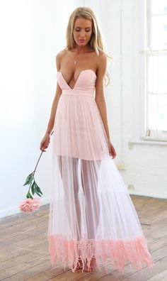 DRESS: http://www.glamzelle.com/collections/dress/products/enchanting-rose-mesh-chiffon-crochet-maxi-dress
