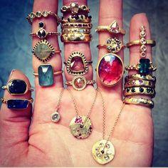 #elizabethstreetjewelry #showmeyourrings #loveadorned