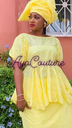 Magal Touba Aya Couture puts the little dishes in the big ones African Dresses For Kids, African Maxi Dresses, Latest African Fashion Dresses, African Print Fashion, Africa Fashion, African Attire, African Wear, African Lace, African Style