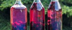 Cherry domácí likér Cherry, Bottle, Syrup, Flask, Prunus, Jars