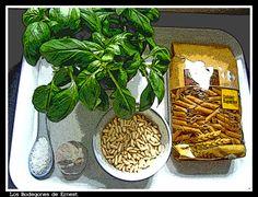 Bodegón- Pasta al pesto