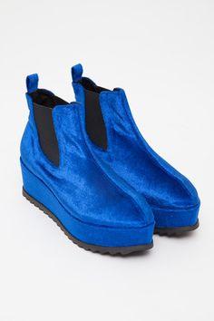 UNIF - Blue Velvet Hellsea Boot