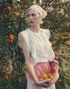 Resultado de imagem para fruit fashion editorial
