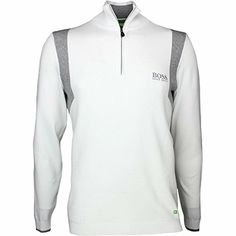 98988ed3d6af Hugo Boss Golf Jumper - Zelchior Pro - Training White SP17-S
