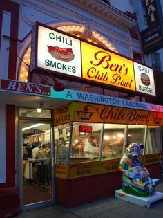 For Ben's Chili Bowl's 55th anniversary in August 2013,