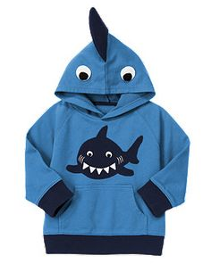 Shark Fin Terry Hoodie - want!