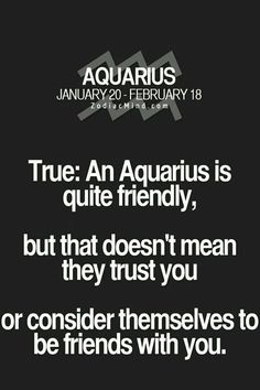 ImageFind images and videos about facts and aquarius on We Heart It - the app to get lost in what you love. Aquarius Facts Love, Aquarius And Cancer, Aquarius Traits, Aquarius Quotes, Aquarius Woman, Age Of Aquarius, Capricorn And Aquarius, Zodiac Signs Aquarius, My Zodiac Sign