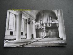 Interieur van de Wijkse Hervormde Kerk in Wijk en Aalburg aan de Torenstraat / Grote Kerkstraat