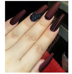 Maroon & Black