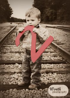 two year old pictures toddler portraits railroad photography BIRTHDAY #worthphotography