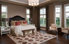 How to Lay Out a Master Bedroom for Serenity: promote relaxation where you need it most!