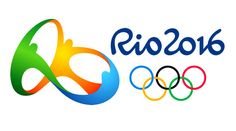 The logo of the Olympic Games at Rio de Janeiro in 2016.