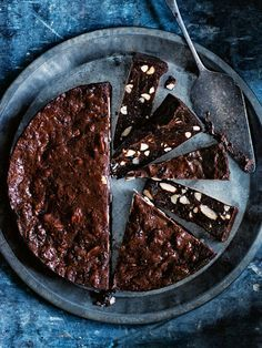 Smoked Almond And Cherry Panforte | Donna Hay