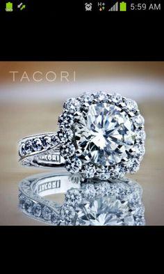 Tacori engagement ring. Aka my dream ring.