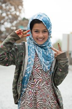 """malcolmxing: """"Street Kid in Kabul. One girl over the years, photographed by different photographers. """""""
