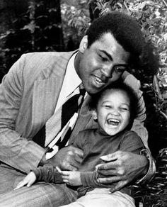 Muhammad Ali and his daughter Maryum