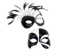 864b4597e128 Transfixed Black and White Masquerade Couple - C-0666 by SuccessCreations  on Etsy Transfixed couple
