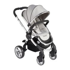 iCandy Peach 2, silver mint. Baby moving into this tomorrow as he's too tall for the carrycot! #superted