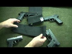 In this DIY How To video I show you my self made Belly Band elastic holster for concealed carry. Right in time for the summer months, these holsters are grea.