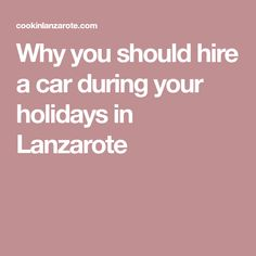 Lanzarote is full of hidden gems. But it can get pretty complicated to get around the island. Check out our tips on how to hire a car here and avoid scams. Holidays, Car, Lanzarote, Holidays Events, Automobile, Holiday, Autos, Cars, Vacation