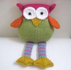 Knit Owl Amigurumi Pattern