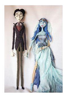 muñecos para pastel de bodas la novia cadaver - Buscar con ...