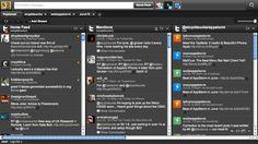 Hootsuite Interface. More Twitter tips at http://getonthemap.us/twitter/blog #twitter #573tips