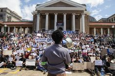 Photo of UCT silent protest