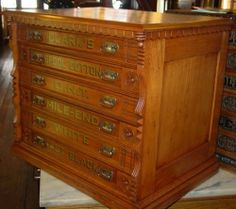 6-drawer-oak-Willimantic-spool-cabinet-excellent-condition-15028 ...