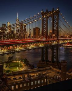 DUMBO at night by Dario NYC - New York City Feelings