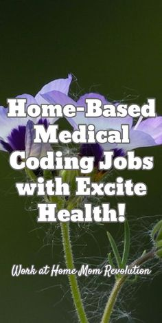 Home-Based Medical Coding Jobs with Excite Health Partners - Mund- und Zahngesundheit 2020 Earn Money From Home, Way To Make Money, Make Money Online, Money Fast, Medical Billing And Coding, Medical Terminology, Job Work, Work From Home Moms, Health Advice