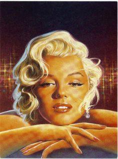 an art of Merylin. Marilyn Monroe Pop Art, Marilyn Monroe Photos, Divas, Lee Strasberg, Pin Up, Actor Studio, Gentlemen Prefer Blondes, Star Images, Norma Jeane