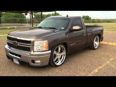Dropped Trucks, Lowered Trucks, Gm Trucks, Cool Trucks, Chevy Trucks, 09 Silverado, Chevrolet Silverado, New Chevy Truck, Single Cab Trucks
