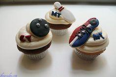 Bowling Cupcakes.....STRIKE!