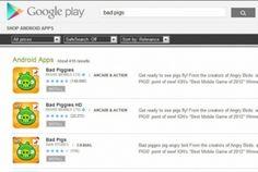 Falso game Bad Piggies espalha malware na Google Play