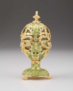 Green & Gold Faberge Egg