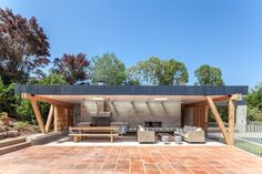 Outdoor Living at its Breezy Best: Modern Beach Pavilion in Chile