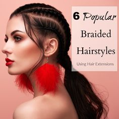The New Year is here, and we may need some protective hairstyles to help keep our natural hair under wraps. If that's you, well, we've got you. Here are 6 popular long braided hairstyles using the best hair extensions on the market. Sew In Weave Hairstyles, Long Braided Hairstyles, Protective Hairstyles, Cool Hairstyles, Medium Hair Styles, Natural Hair Styles, Short Hair Styles, Short Sew In, How To Cut Your Own Hair