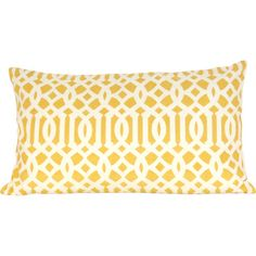 Arabesque Pillow in Honey Gold.