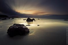 Criccieth Sunrise by Andrew Wilson
