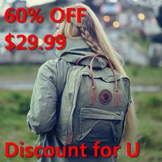 Fjallraven Kanken Backpack asouua Looks Cool, Kanken Backpack, Cute Outfits, Thing 1, My Style, Fitness, Fun, How To Wear, Clothes