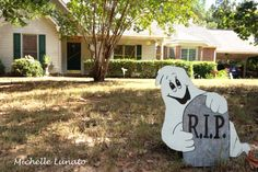Halloween decorations can be cute and fun! (2013)