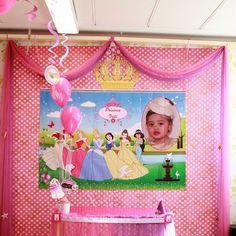 Princess back drop Backdrops, Princess, Cake, Home Decor, Decoration Home, Room Decor, Food Cakes, Princesses, Cakes