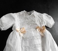 antique christening gown ... from Vintage French Linens on Etsy