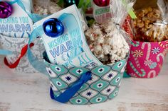 Wish I would have seen this cozy toes gift idea sooner - would have been perfect for my friends this Christmas! Maybe next year....