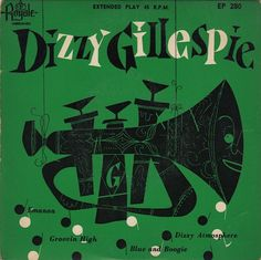 jazz royale records dizzy gillespie 45rpm
