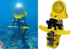 Let's go diving. Yeah!