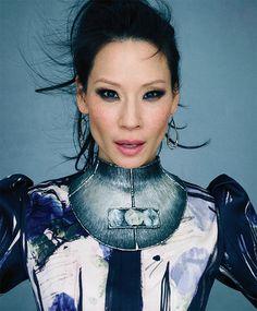 Lucy Liu Michigan Avenue November 2012 03