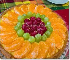 Tarte aux Fruits sur Palet Breton Palet Breton, Grapefruit, Fruit Salad, Muffins, Deserts, Cookies, Manon, Quiches, Food