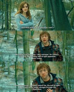 Ron and Hermione-- Harry Potter and the Deathly Hallows Part I. Harry James Potter, Photo Harry Potter, Harry Potter Ron And Hermione, Mode Harry Potter, Harry Potter Puns, Harry Potter Feels, Harry Potter Actors, Harry Potter Pictures, Harry Potter Universal
